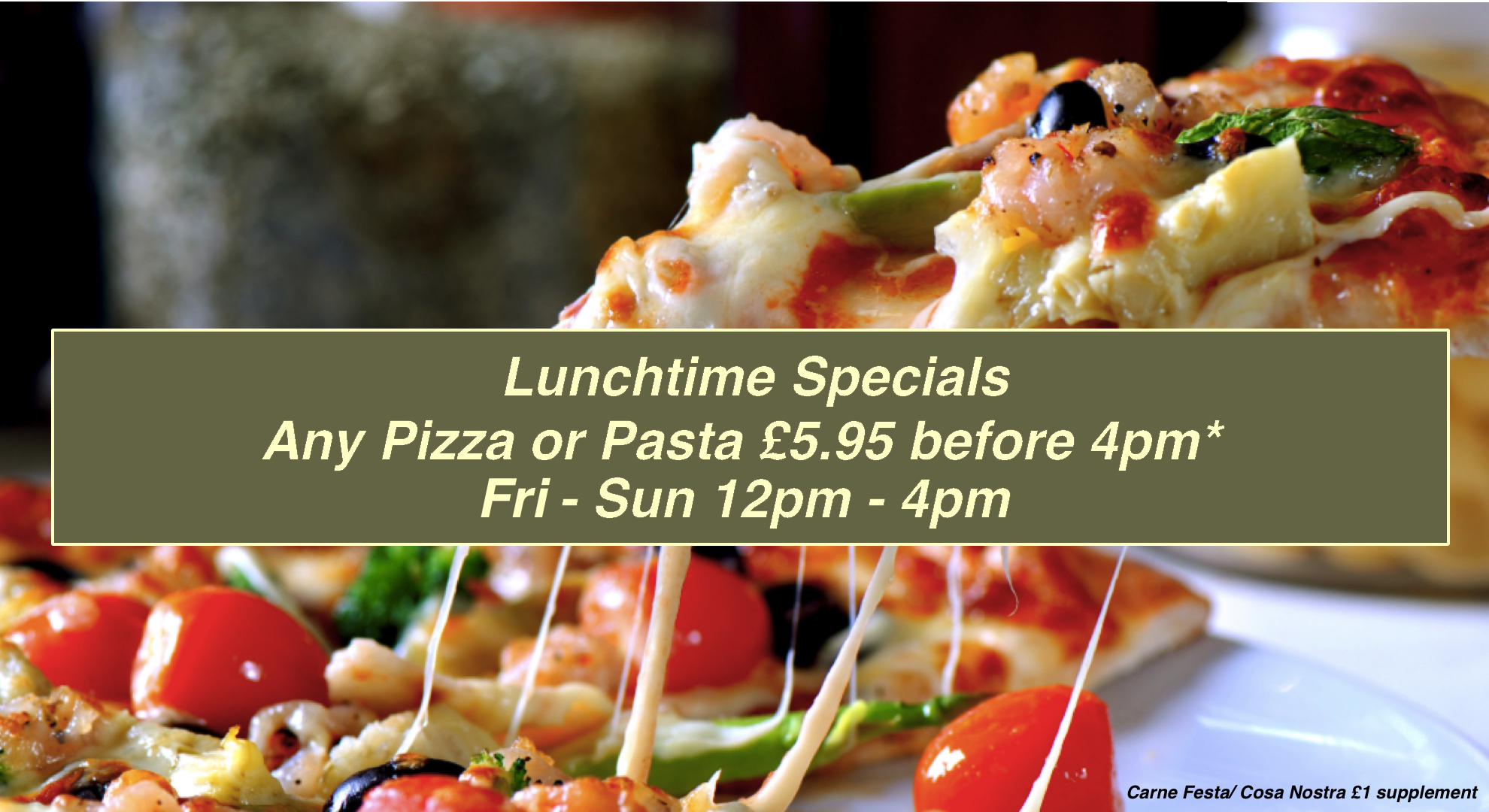 Photo for Lunch Time Specials Event