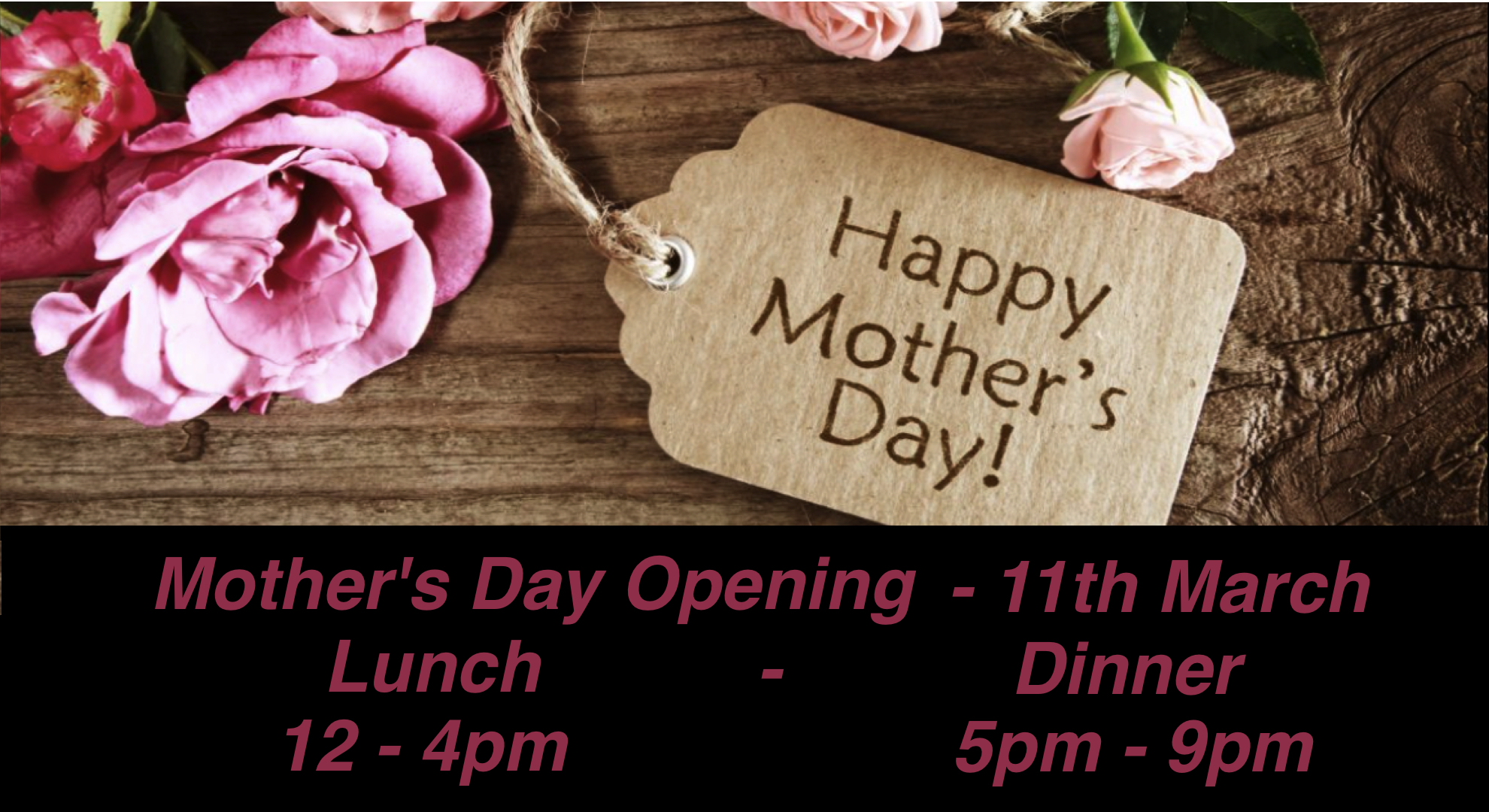 Photo for Mothers Day Lunch Event